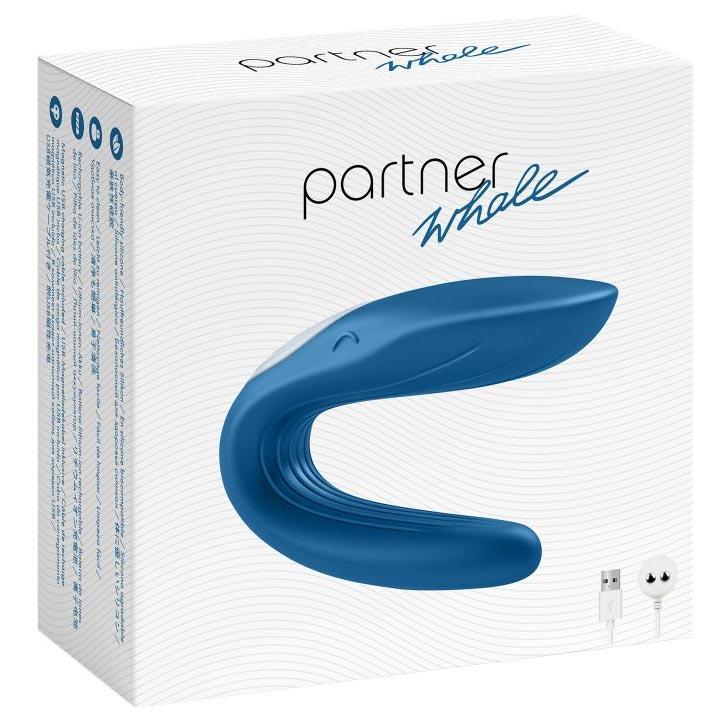 Многофункциональный стимулятор для пар Partner Whale. Вид 8.