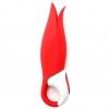 Вибратор Satisfyer Vibes Power Flower с лепестками (красный). Вид 2.