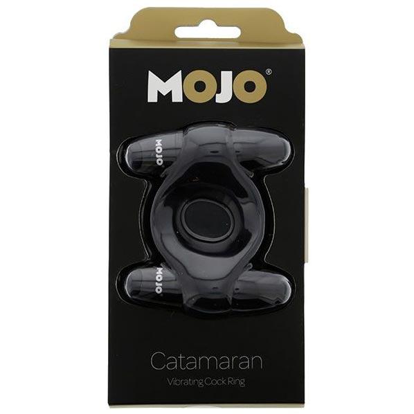 Эрекционное кольцо с 2-мя вибраторами MOJO CATAMARAN. Вид 2.