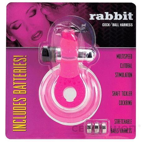 Эрекционное кольцо со стимулятором клитора Rabbit. Вид 2.