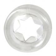 Прозрачное эрекционное кольцо STYLE STAR COCKRING