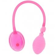 Розовая вакуумная помпа для вагины и клитора