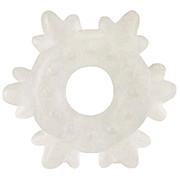 Эрекционное кольцо «снежинка» STRETCHY SILICONE COCKING