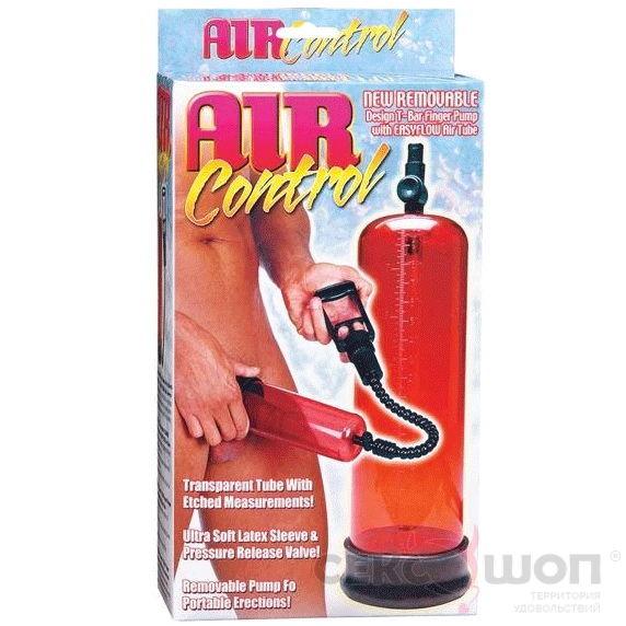 Вакуумная помпа для мужчин красная RED AIR CONTROL. Вид 2.