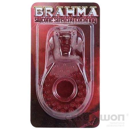 Толстое эрекционное кольцо красное BRAHMA RED. Вид 2.