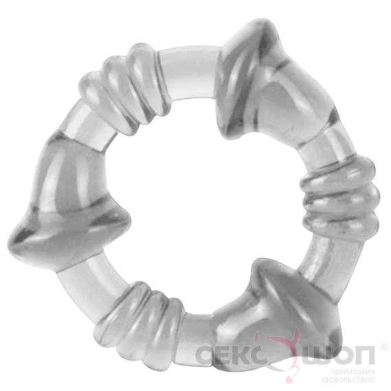 Эрекционное кольцо MINI FLEX STRETCHY COCKING. Вид 1.