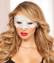 Кружевная маска на глаза с прорезями для глаз