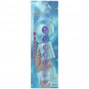 Фиолетовая анальная цепочка (30 см)
