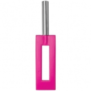 Розовая шлёпалка Leather Gap Paddle (35 см)