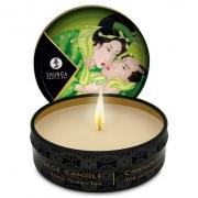 Массажная свеча Exotic Green Tea с ароматом зелёного чая (30 мл)