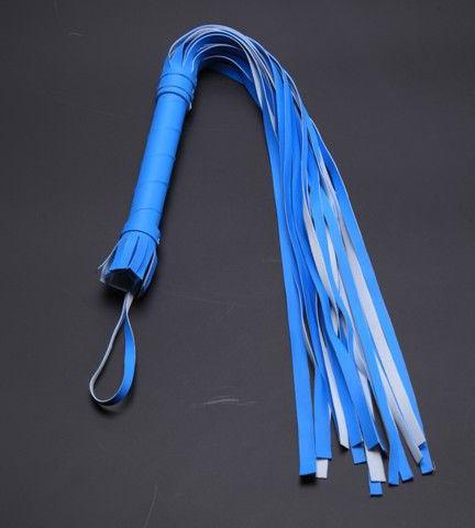 Голубая плеть-многохвостка (65 см). Вид 1.