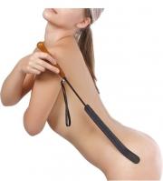 Чёрный стек с длинным шлепком (70 см)