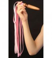 Розовая плеть «Комета» (60 см)