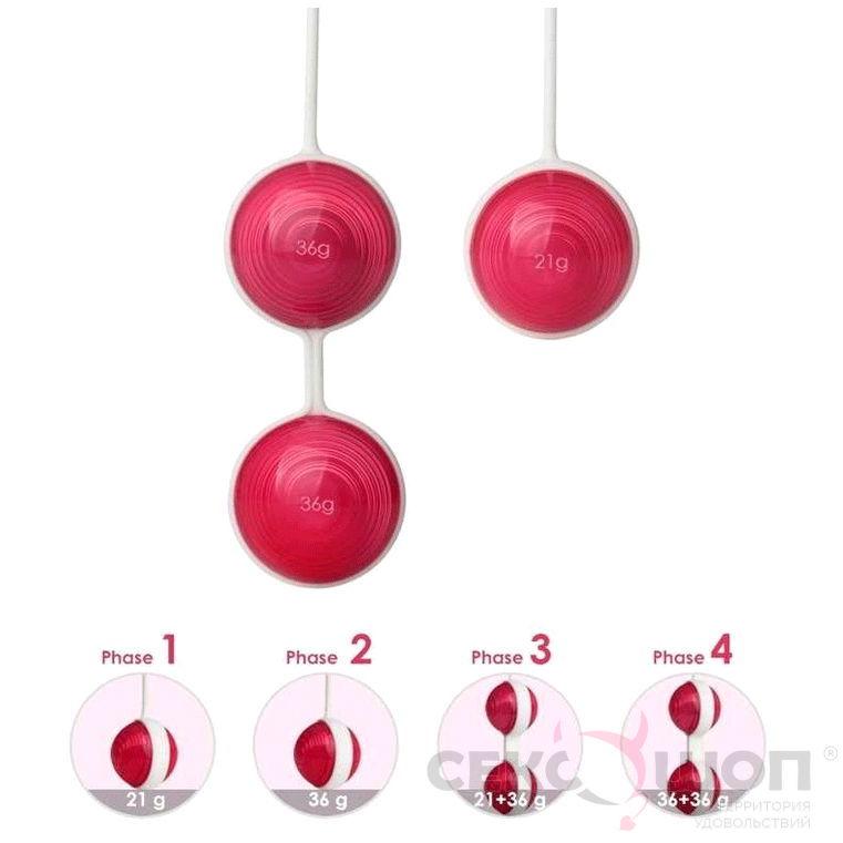 Набор съемных вагинальных шариков Kegel Ball. Вид 4.