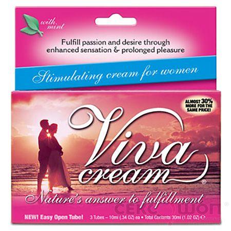 Женский возбуждающий крем Viva Cream (30 мл). Вид 1.