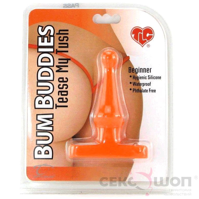 Маленькая анальная пробка Bum Buddies Tease My Tush Beginner. Вид 4.
