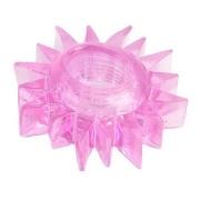 Эрекционное кольцо в форме солнца (розовое)