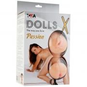 Надувная секс-кукла с тремя любовными отверстиями