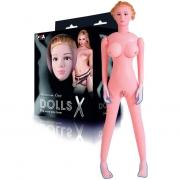 Надувная секс-кукла с реалистичной головой и конечностями