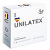 Разноцветные кондомы с ароматами Unilatex Multifruits (3 шт.). Вид 1.